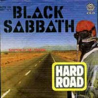 Black Sabbath Hard Road album cover