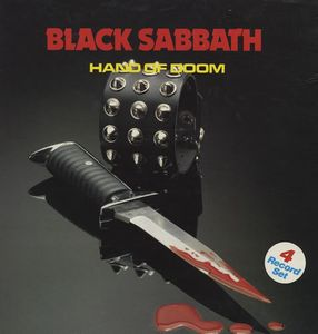 Black Sabbath Hand of Doom  album cover