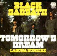 Black Sabbath Tomorrow's Dream album cover