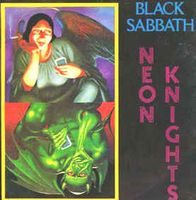 Black Sabbath Neon Knights album cover