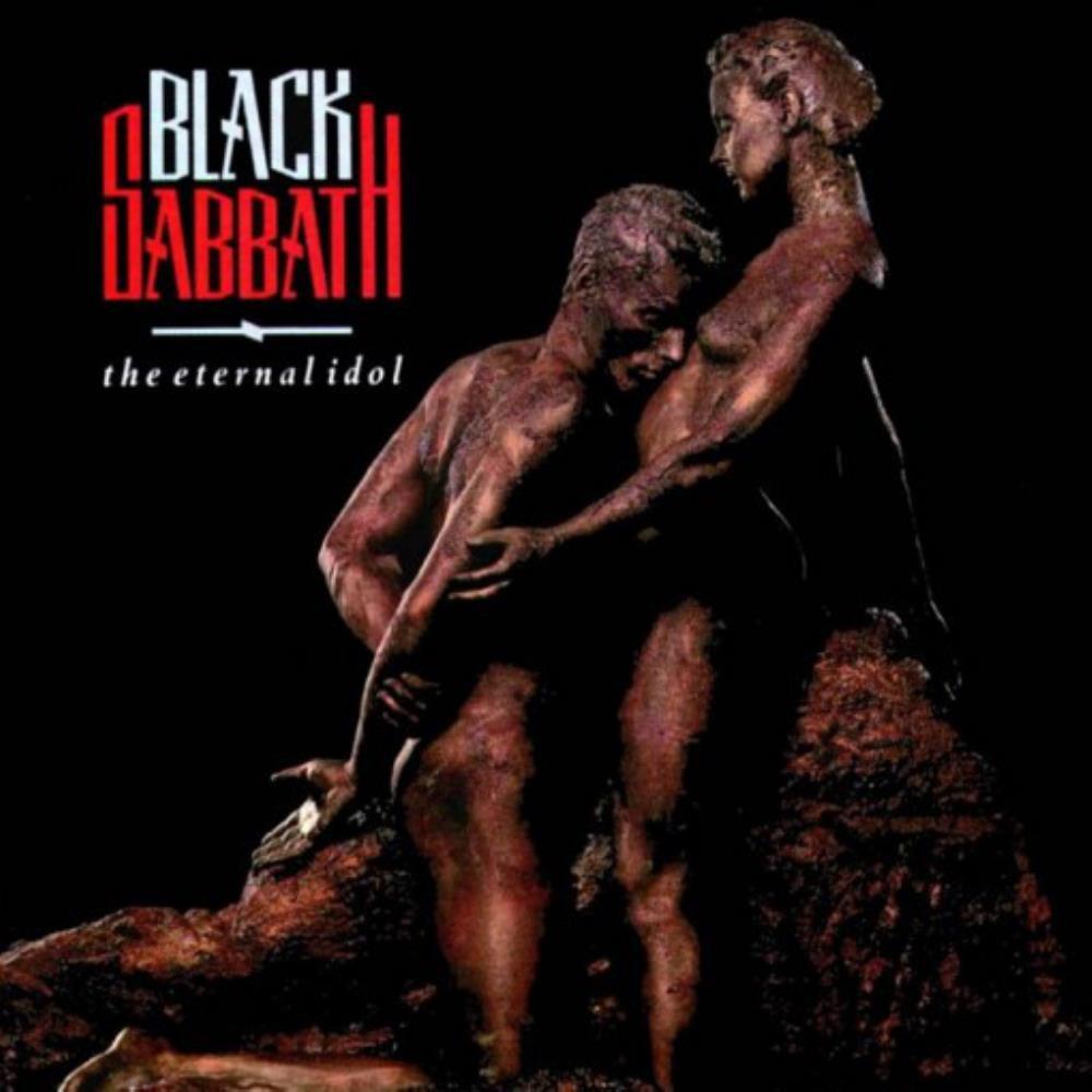 The Eternal Idol by BLACK SABBATH album cover