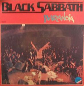 Black Sabbath Paranoia album cover