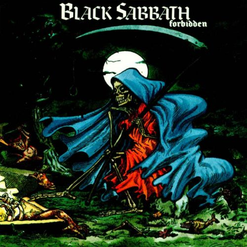 Black Sabbath - Forbidden CD (album) cover