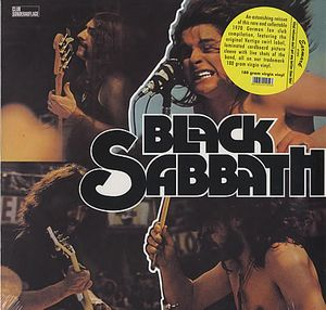 Black Sabbath Black Sabbath album cover