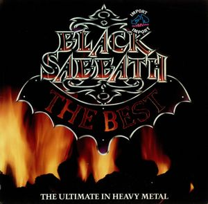 Black Sabbath The Best: The Ultimate In Heavy Metal album cover