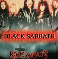 Black Sabbath Rock Giants album cover