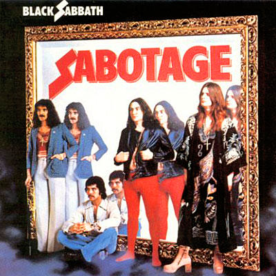 Sabotage by BLACK SABBATH album cover
