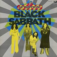 Black Sabbath Attention! Black Sabbath album cover