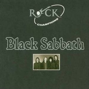 Black Sabbath Rock Champions album cover