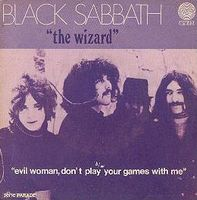 Black Sabbath The Wizard album cover