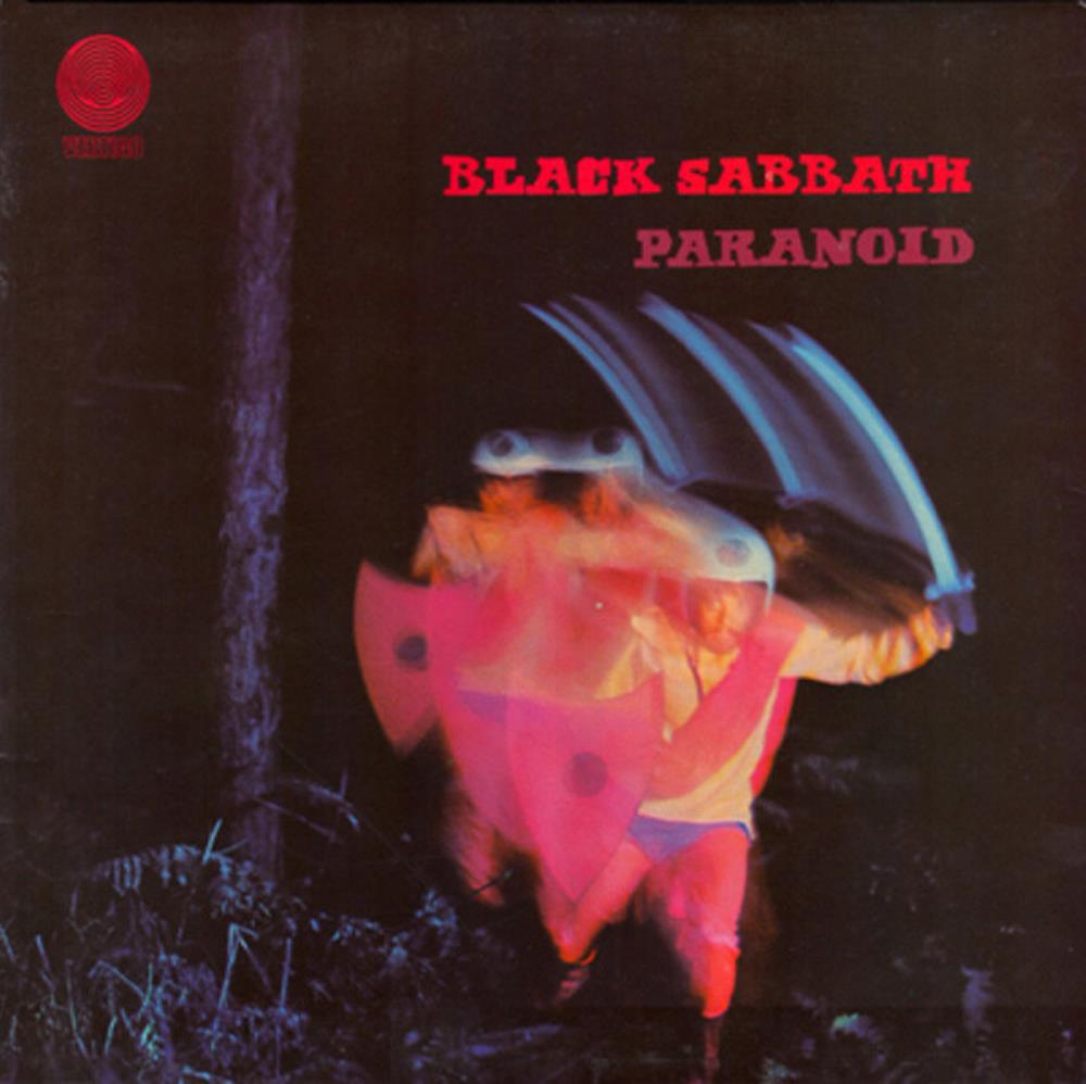 Paranoid by BLACK SABBATH album cover