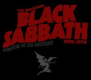 Black Sabbath Symptom of the Universe  album cover