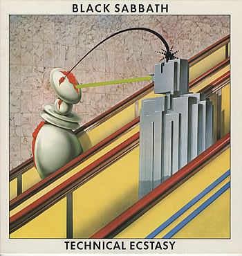 Technical Ecstasy by BLACK SABBATH album cover