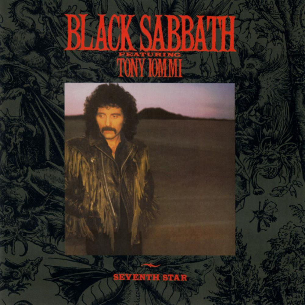 Seventh Star by BLACK SABBATH album cover