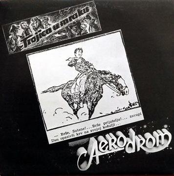 Trojica u mraku by AERODROM album cover