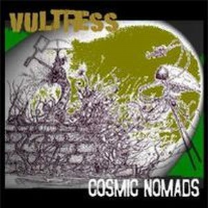 Cosmic Nomads - Vultress CD (album) cover
