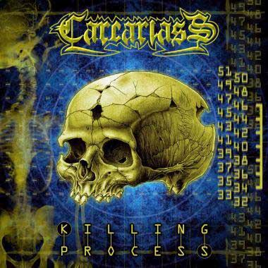 Carcariass - The Killing Process CD (album) cover