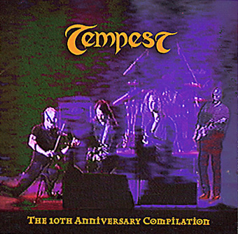 Tempest - The 10th Anniversary Compilation  CD (album) cover