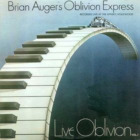 Live Oblivion Volume 1 by AUGER, BRIAN album cover