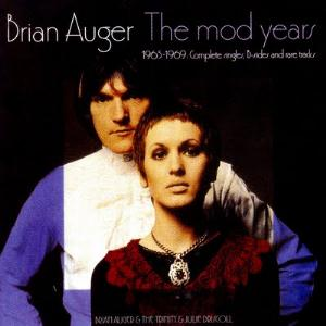 Brian Auger The Mod Years 1965-1969 album cover