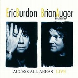 Brian Auger Access All Areas ( with Eric Burdon) album cover