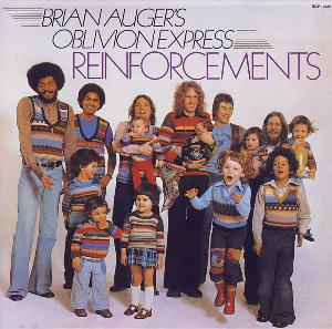 Brian Auger - Reinforcements (as Oblivion Express) CD (album) cover