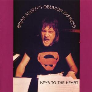 Brian Auger Keys To The Heart (with Oblivion Express) album cover