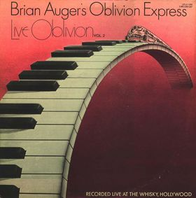 Brian Auger - LIVE OBLIVION Volume 2 CD (album) cover