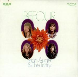 Brian Auger - Befour (with the Trinity) CD (album) cover