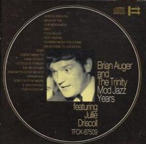 Brian Auger Mod Jazz Years Featuring Julie Driscoll album cover
