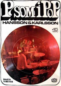 Hansson & Karlsson P som i Pop album cover