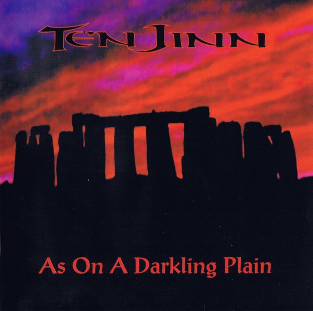 As On A Darkling Plain by TEN JINN album cover
