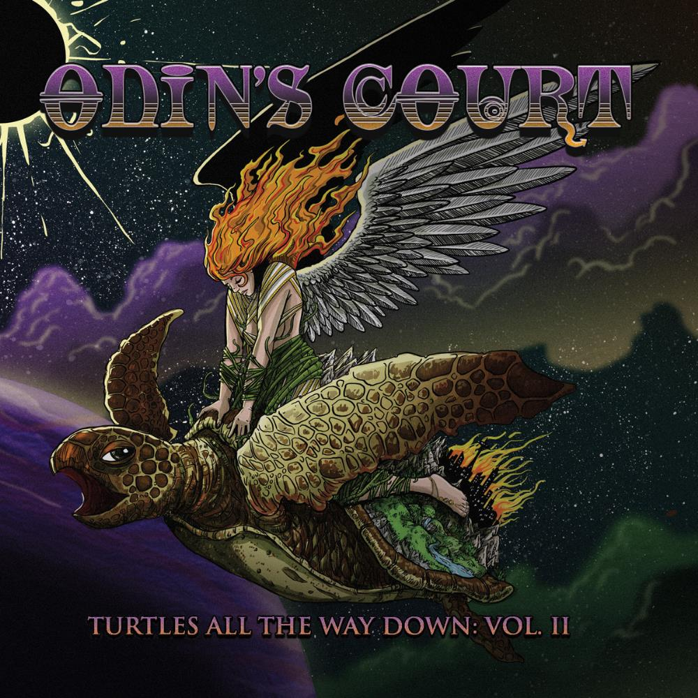 Turtles All The Way Down, Vol. II by ODIN'S COURT album cover