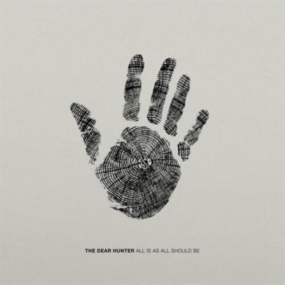 The Dear Hunter - All Is As All Should Be CD (album) cover