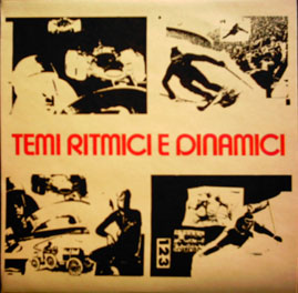 Temi Ritmici E Dinamici by BRAEN'S MACHINE album cover