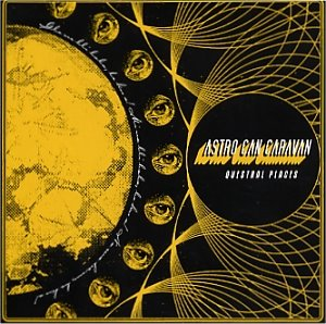 Astro Can Caravan - Questral Places  CD (album) cover