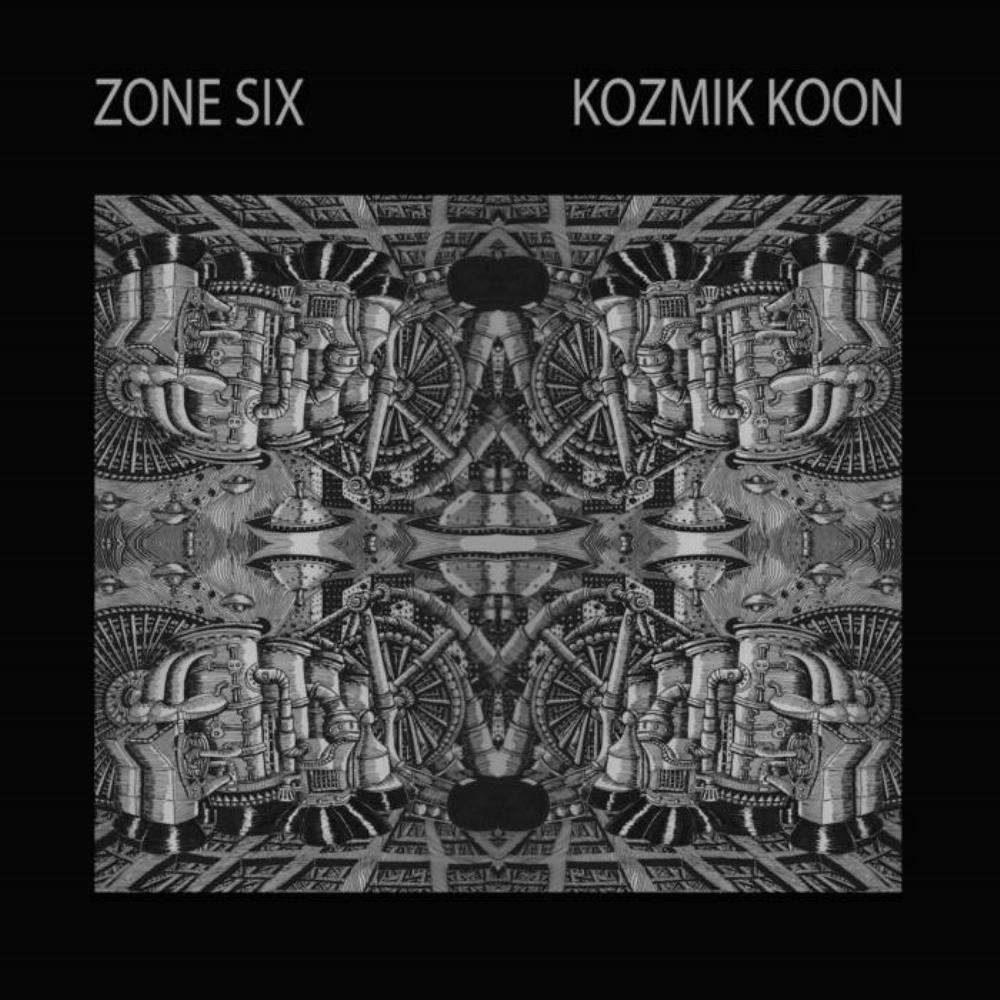 Kozmik Koon by ZONE SIX album cover