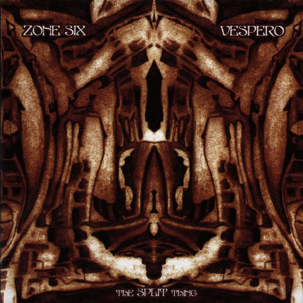 Zone Six / Vespero: The Split Thing by ZONE SIX album cover
