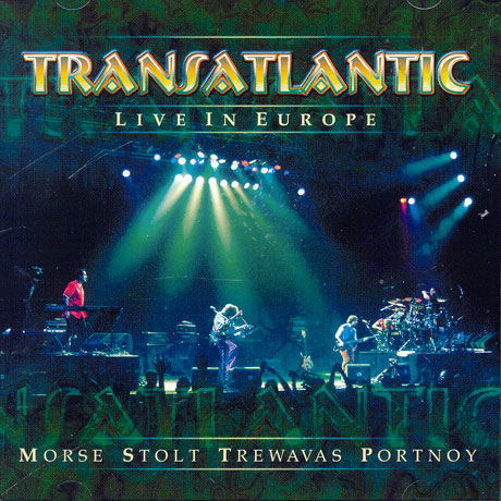 Transatlantic Live in Europe album cover