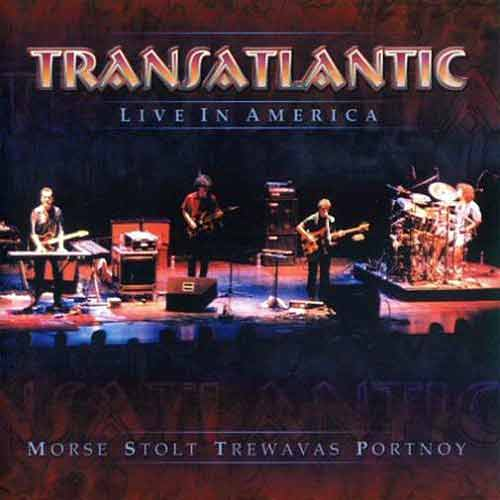 Transatlantic Live in America  album cover
