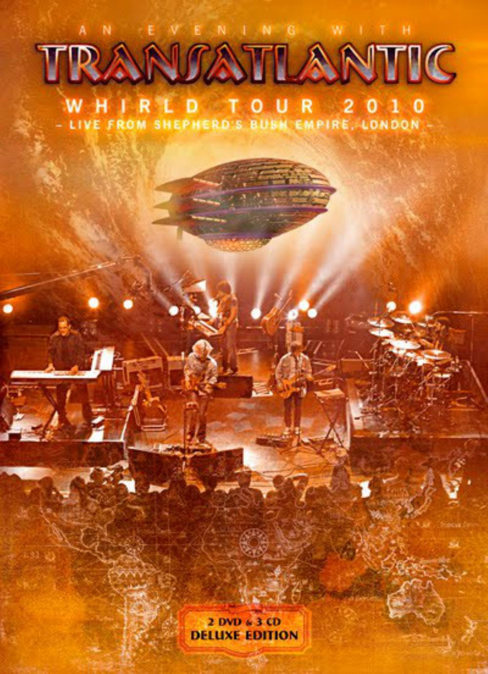 Transatlantic - Whirld Tour 2010 - Live From Shepherd's Bush Empire, London CD (album) cover