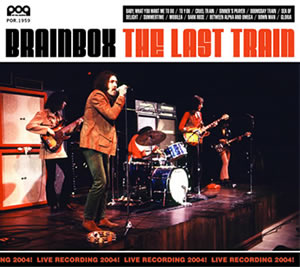 Brainbox The Last Train album cover