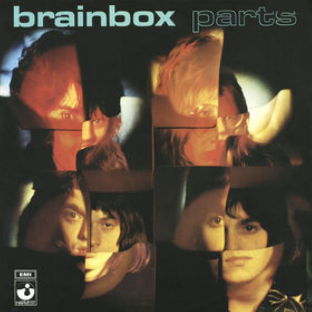 Brainbox - Parts CD (album) cover