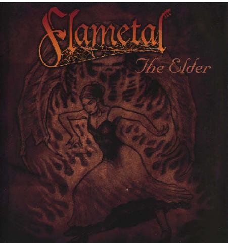 Flametal - The Elder CD (album) cover