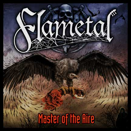 Flametal Master of the Aire album cover