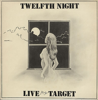 Twelfth Night - Live at the Target CD (album) cover