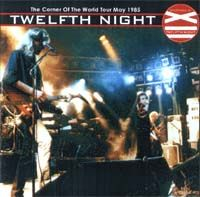 Corner of the World by TWELFTH NIGHT album cover