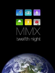 Twelfth Night - MMX (DVD) CD (album) cover