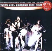 Twelfth Night A Midsummer's Night Dream album cover