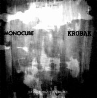 Krobak - [Long Forgotten Road] (Split with Monocube) CD (album) cover